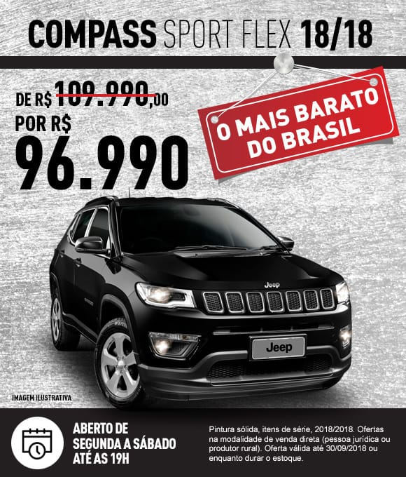 Jeep Via Motors Compass Sport Flex 18/18